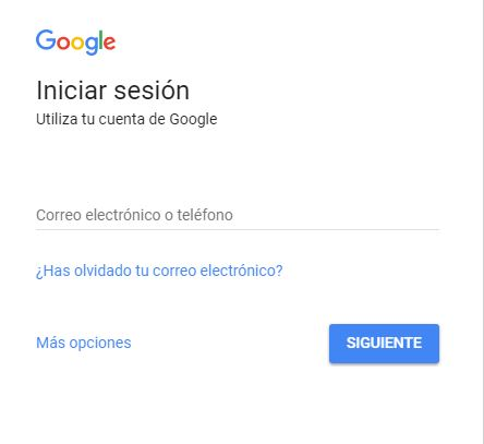 new product 034ba bd8bb Iniciar sesión Google
