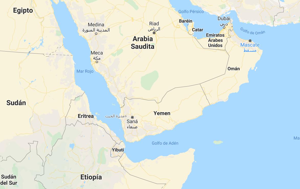 Mapa_Yemen